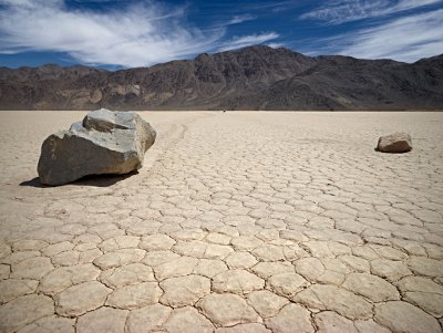 La Death Valley. Scenario tipico estivo di desolazione totale