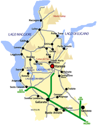 Cartina Italia Varese.Meteo E Clima In Provincia Di Varese Previsioni Meteo Regionali
