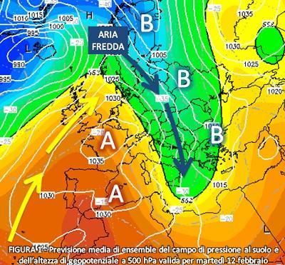 Fig. 1: Situazione prevista per il 12 febbraio