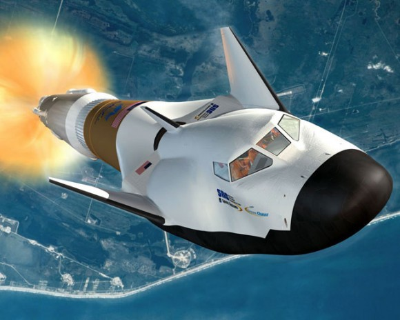 La navetta Dream Chaser Atlas