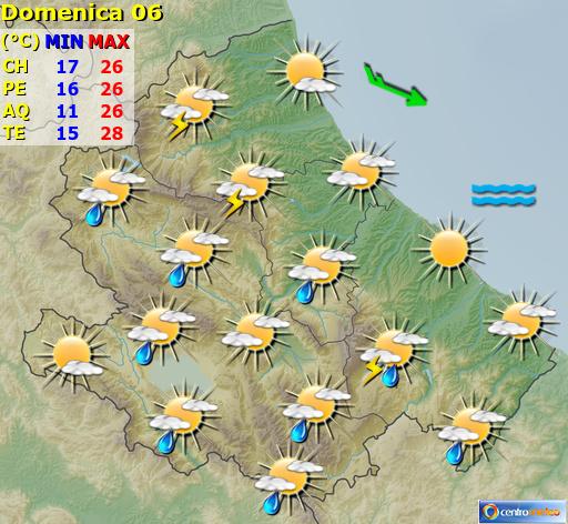 Previsioni Meteo Abruzzo