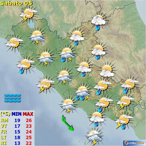 Previsioni Meteo Lazio